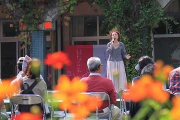 【花の文化園】バラ園コンサート